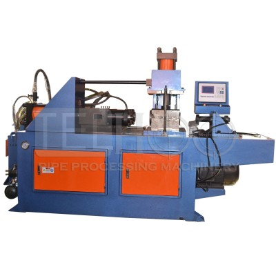 Automatic pipe tube end shaping machine