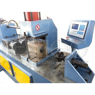 Automatic tube end forming machine