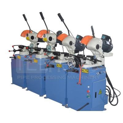 Semi-automatic metal pipe cutting machine