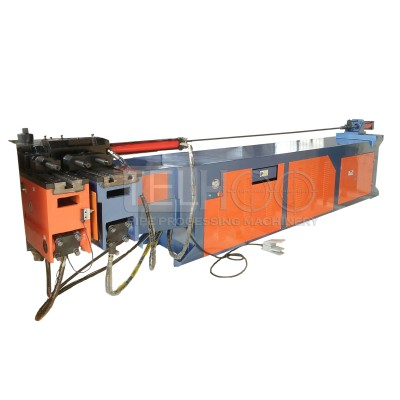 DW89NC manual hydraulic pipe bending machine