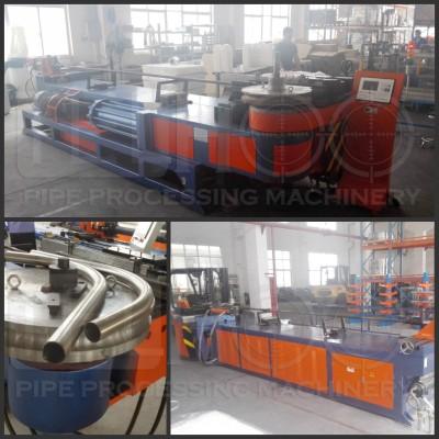 DW130NC steel pipe bend making machine