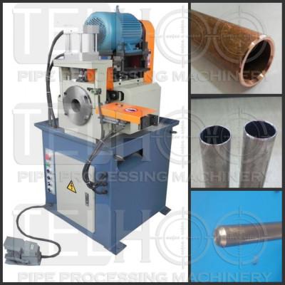 Pneumatic pipe chamfer machine