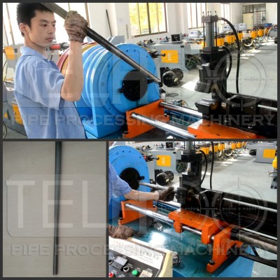 ZSG-40A Automatic pipe taper reducing forming machine