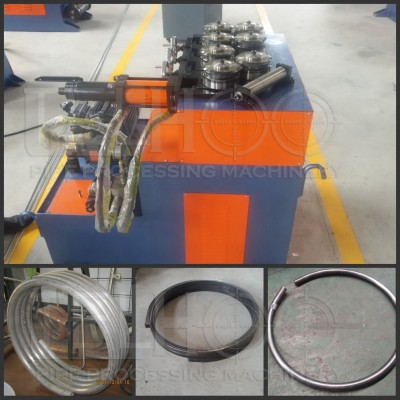 Hydraulic 7 roller pipe bending machine for big radius