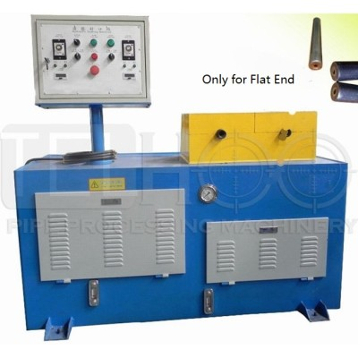 automatic pipe end closing machine