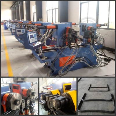 SW38A Double Head Pipe Bending Machines Special Use for U Shape and W shape with fast bending solution