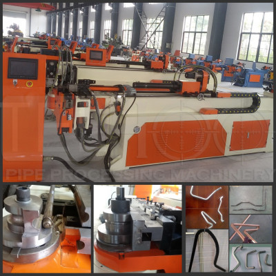 Automatic hydraulic cnc tubing bender for automobile parts