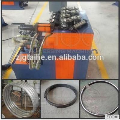 hydraulic coil tube rolling bending machine, section rolling bending machine, horizontal type