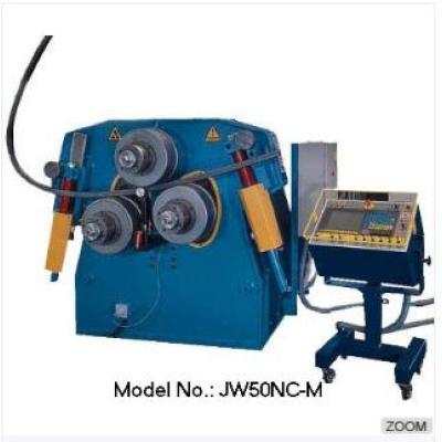 JW50 3-roll pipe/tube rolling machine