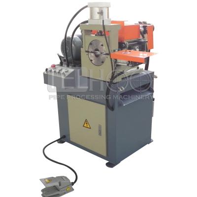 Copper pipe end deburring machine