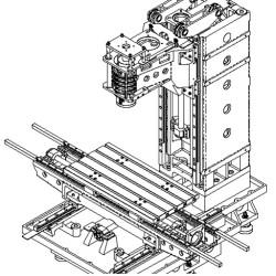 CNC MACHINE FRAME VMC640L