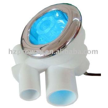 0.5 W 12 V AC / DC de entrada siete LED luz
