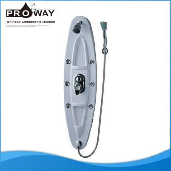 Agua fría y caliente manejar 122 * 32 cm Panel de ducha