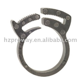 Kz-02 25 mm 32 mm 48 mm Whirlpool Componets de plástico Pipe Clamp