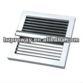 Abs ducha cabina cubierta del ventilador