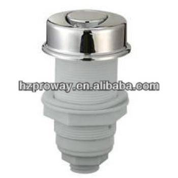 Bañera de botón 3 mm de diámetro exterior del tubo de conexión de aire interruptor
