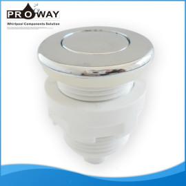 3 mm de diámetro exterior del tubo de conexión de la bañera piezas de la bomba de aire botón