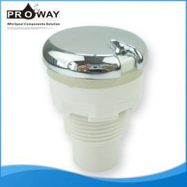 Bañera de aire de botón ABS diámetro de la tapa de 46 mm Whirlpool accesorios
