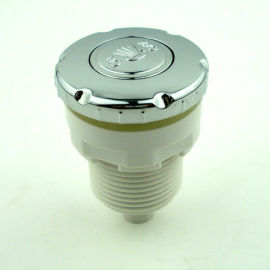 Bañera accesorios de botón del aire 3 mm de diámetro exterior del tubo de conexión PVC