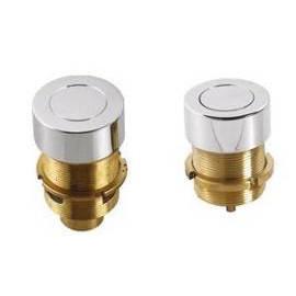 Bañera accesorios de cobre amarillo de Control de aire con botón para Whirlpool
