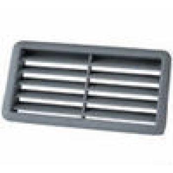 Pp tipo persianas de ventilación rectángulo del ventilador accesorios para el cuarto de
