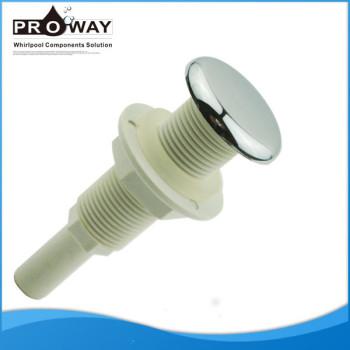 Cromo plateado ABS PVC cuerpo de hidromasaje bañera de la boquilla de soplado