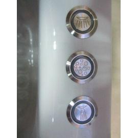 De acero inoxidable de la bañera grupo Control para la bomba del ventilador de luz LED