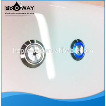Acero inoxidable bomba de la bañera de Control de luz con Panel electrónico caja de hidromasaje de componentes