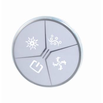 Fácil de diseño de masajes Spa bañera de Control de luz para de hidromasaje de burbujas
