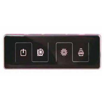 Panel de Control del Spa masaje para bañera de la bomba de agua casilla de verificación