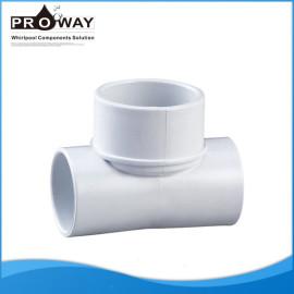 Tubo del PVC bañera de la bomba piezas de unión conjunta para el agua fuente de alimentación