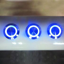 Bañera de acero inoxidable LED Panel de Control para Spa bomba de masaje luces