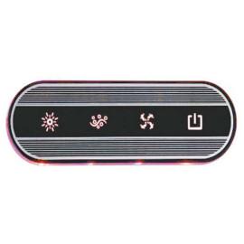Bañera de masaje luz bomba de agua jacuzzi Control Panel