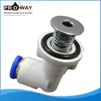 Aj602a bañera de latón piezas de 8 mm 10 mm rápida conjunta de la boquilla de aire