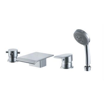 Whirlpool bañera grifo de la ducha fría / caliente WaterHot mezclador para bañera con grifo de latón para Spa de hidromasaje