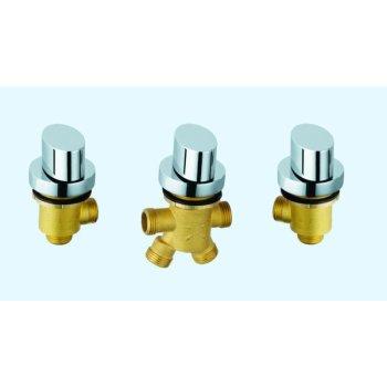 Piscina de hidromasaje ajustar boquilla de hidromasaje Zn mando manual de aleación de mezclador de la bañera parte