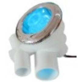 Whirlpool bañera automático de colores balneario del LED bajo el agua de la lámpara LED con CE UL OEM disponible