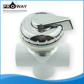 Va-002 PVC bañera piezas de cromo plateado ABS manija eléctrica de la válvula de agua
