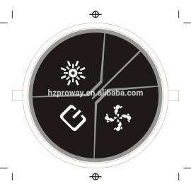 Baño de burbujas regulador de Spa bañera de componentes de la bomba de agua regulador de la luz