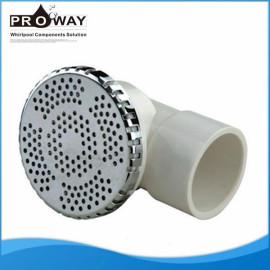 Piscina de hidromasaje bañera de retorno de agua cubierta ABS 90 mm de succión