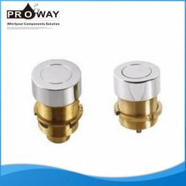Aire de botón de hidromasaje de accesorios de latón bañera de Control de aire conjunto