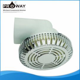 Bañera de componentes PVC cuerpo de hidromasaje de succión