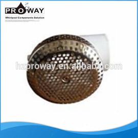 Whirlpool componentes para Spa de hidromasaje bañera de PVC de succión de acero inoxidable