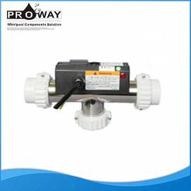 Bañera de hidromasaje de calentamiento de agua equipo de hidromasaje componente con CE de hidromasaje calentador