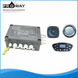 Bañera de componentes de ozono calentador regulador de burbujas de Control