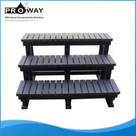 Dc022 PS Material de 127 * 74 * 87 cm alta calidad de SPA paso
