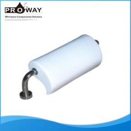 Bañera PVC blanco cómodo reposacabezas almohada