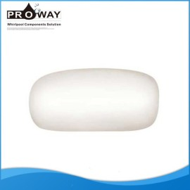 Superior mercancías sanitarias bañera almohada Material de la PU almohada