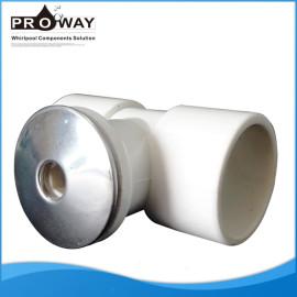 Ss frente PVC D40mm bañera manguera de piezas de la boquilla de chorro de agua