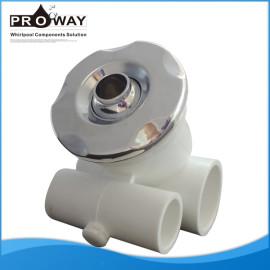 Wj-0046b D63.5mm bañera plana cubierta de hidromasaje boquilla